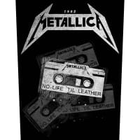 Metallica No Life Til Leather Backpatch