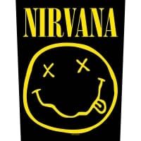 Nirvana Smiley Backpatch