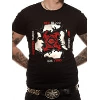 Red Hot Chili Peppers BSSM T-Shirt, Medium