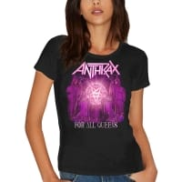 Anthrax For All Queens T-Shirt, Medium