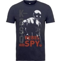 Rogue One K-2SO Rebel Spy T-Shirt, 7-8 år