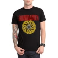 Soundgarden Bad Motor Finger T-Shirt, Medium