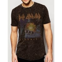 Def Leppard Pyromania Vintage T-Shirt, Medium