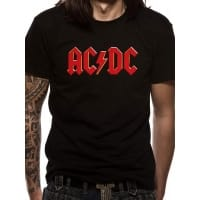 AC/DC Logo T-Shirt, Medium