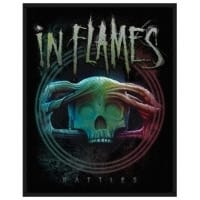 In Flames Battles Patch 8 x 10 cm