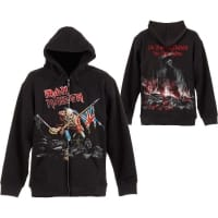 Iron Maiden Trooper Hoodie, Medium