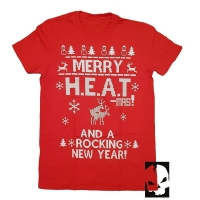 H.E.A.T Rocking New Year T-Shirt, Medium