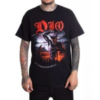 Dio Ronnie James Dio R.I.P. T-Shirt, Medium