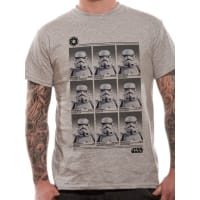 Star Wars Trooper Year Book T-Shirt, Medium