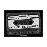 Metallica No Life Til Leather Patch 10 x 5 cm