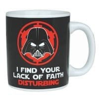Star Wars Darth Vader Lack Of Faith Mugg