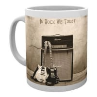 AC/DC In Rock We Trust Mugg
