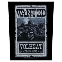 Volbeat Wanted Backpatch