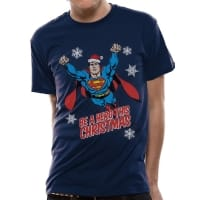 Superman Christmas Hero T-Shirt, Medium
