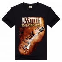 Led Zeppelin The Song Remains The Same T-Shirt, Medium