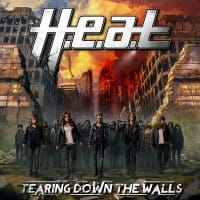 H.E.A.T Tearing Down The Walls CD