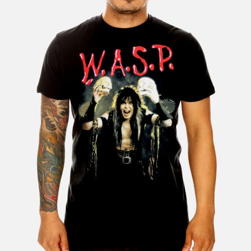 W.A.S.P World Domination T-Shirt