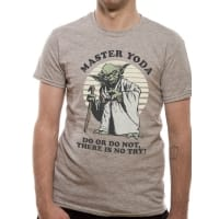 Star Wars Yoda Do Or Do Not T-Shirt, Medium