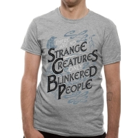 Crimes Of Grindelwald Strange Creatures T-Shirt, Medium