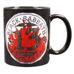 Black Sabbath 13 Flame Circle Mugg