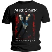 Alice Cooper Paranormal Splatter T-Shirt, Medium