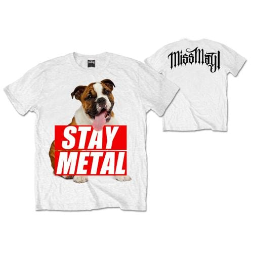 Miss May I Bull Dog T-Shirt