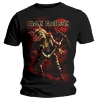 Iron Maiden Benjamin Breeg Graphic T-Shirt, Medium