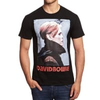 Köp David Bowie Low Portrait T-Shirt, Medium