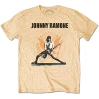 Ramones Johnny Vegas Gold Hey Ho T-Shirt, Medium