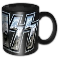 KISS Chrome Logo Mugg