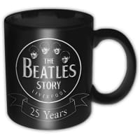 The Beatles Story 25 Years Mugg