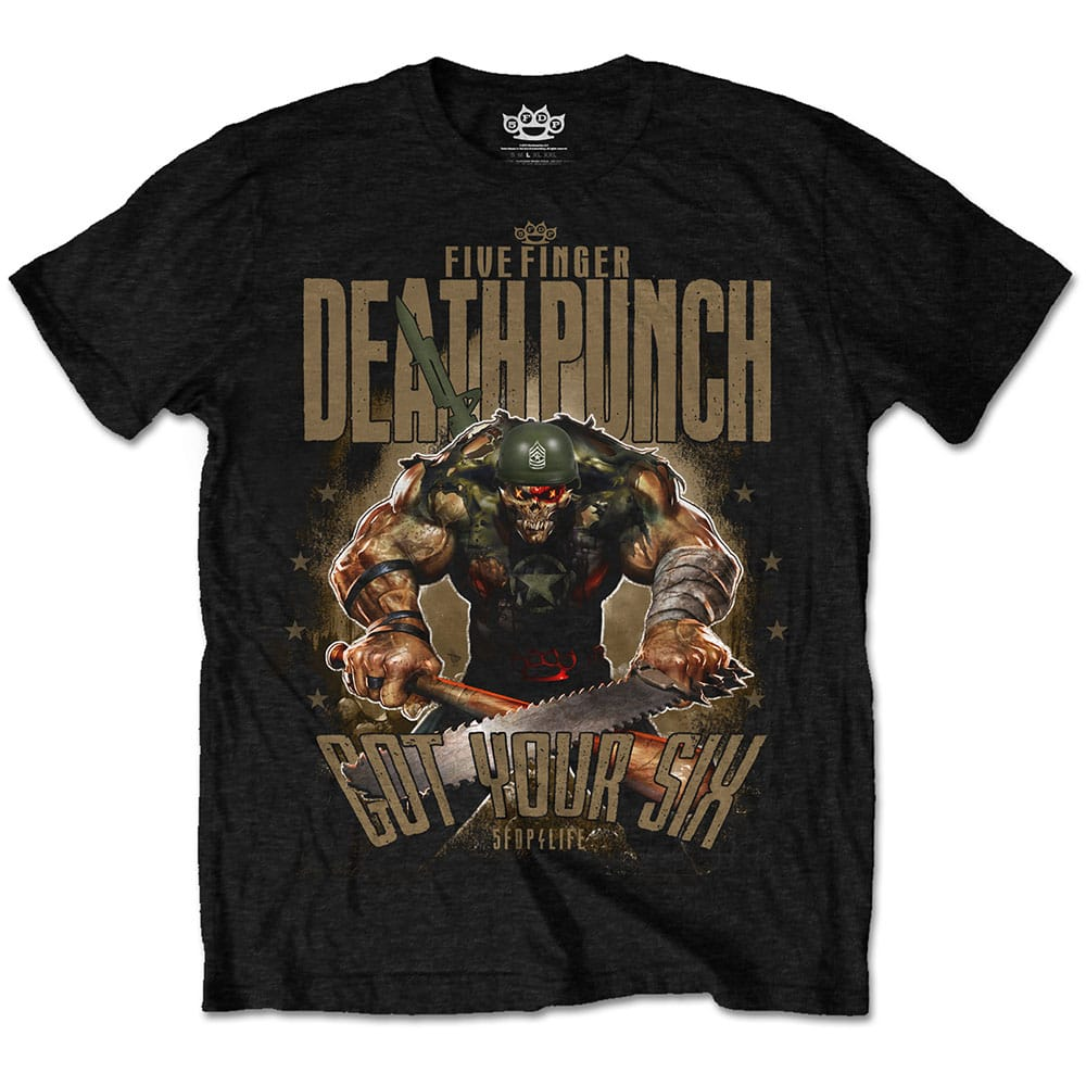 Five Finger Death Punch Sgt Major T-Shirt