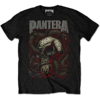 Pantera Serpent Skull T-Shirt, Medium