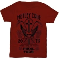 Mötley Crue Final Tour T-Shirt, Medium