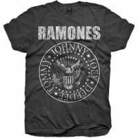 Ramones Presidential Seal Junior T-Shirt, 5-6 år