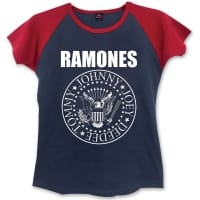Ramones Presidential Seal Girlie T-Shirt, Medium