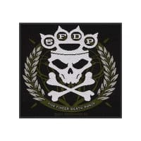 Five Finger Death Punch Knuckle Crown Patch