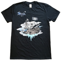 Snow I.U. Pirate Ship T-Shirt, Medium