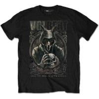 Volbeat Goat With Skull T-Shirt, Medium