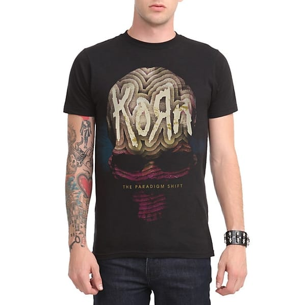 Korn The Paradigm Shift T-Shirt