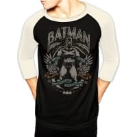 Batman Scrolls Baseball, Medium