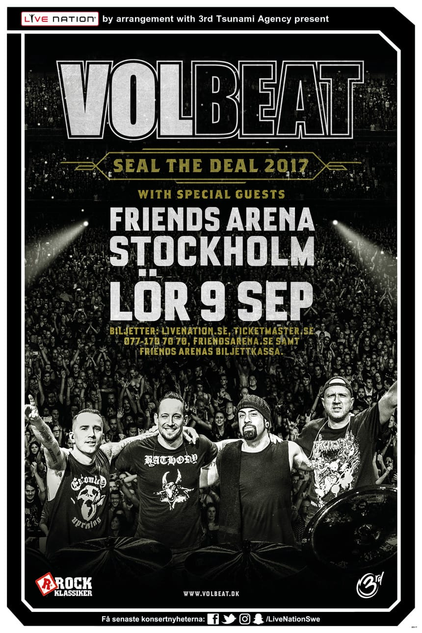 Volbeat + Breaking Benjamin + Amorphis