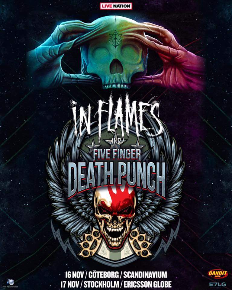 In Flames + Five Finger Death Punch